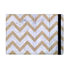 CHEVRON9 WHITE MARBLE & SAND (R) iPad Mini 2 Flip Cases
