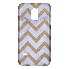 CHEVRON9 WHITE MARBLE & SAND (R) Galaxy S5 Mini