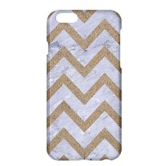 CHEVRON9 WHITE MARBLE & SAND (R) Apple iPhone 6 Plus/6S Plus Hardshell Case