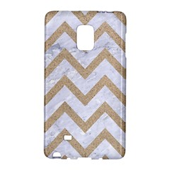 CHEVRON9 WHITE MARBLE & SAND (R) Galaxy Note Edge