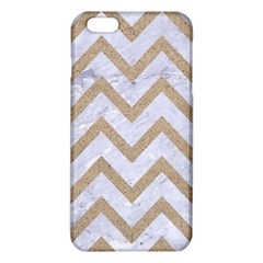 Chevron9 White Marble & Sand (r) Iphone 6 Plus/6s Plus Tpu Case