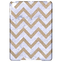 CHEVRON9 WHITE MARBLE & SAND (R) Apple iPad Pro 9.7   Hardshell Case