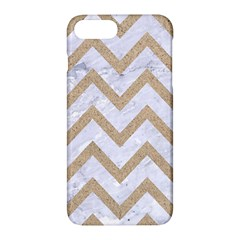 CHEVRON9 WHITE MARBLE & SAND (R) Apple iPhone 7 Plus Hardshell Case