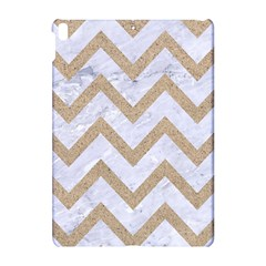 CHEVRON9 WHITE MARBLE & SAND (R) Apple iPad Pro 10.5   Hardshell Case