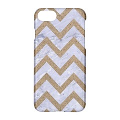 CHEVRON9 WHITE MARBLE & SAND (R) Apple iPhone 8 Hardshell Case