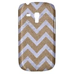 Chevron9 White Marble & Sand Galaxy S3 Mini
