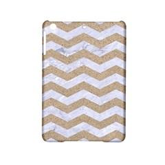 Chevron3 White Marble & Sand Ipad Mini 2 Hardshell Cases