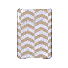Chevron2 White Marble & Sand Ipad Mini 2 Hardshell Cases