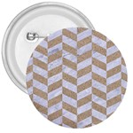CHEVRON1 WHITE MARBLE & SAND 3  Buttons