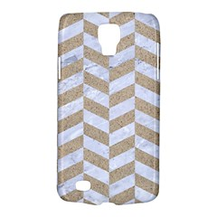 CHEVRON1 WHITE MARBLE & SAND Galaxy S4 Active