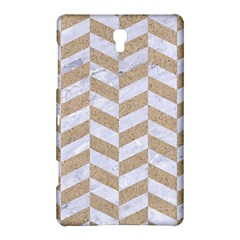 CHEVRON1 WHITE MARBLE & SAND Samsung Galaxy Tab S (8.4 ) Hardshell Case