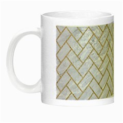 BRICK2 WHITE MARBLE & SAND (R) Night Luminous Mugs