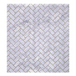 BRICK2 WHITE MARBLE & SAND (R) Shower Curtain 66  x 72  (Large)  58.75 x64.8 Curtain