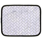 BRICK2 WHITE MARBLE & SAND (R) Netbook Case (XXL)  Front