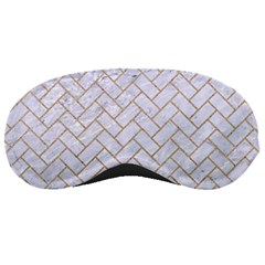 BRICK2 WHITE MARBLE & SAND (R) Sleeping Masks