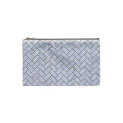 BRICK2 WHITE MARBLE & SAND (R) Cosmetic Bag (Small)