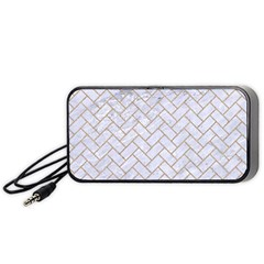 BRICK2 WHITE MARBLE & SAND (R) Portable Speaker