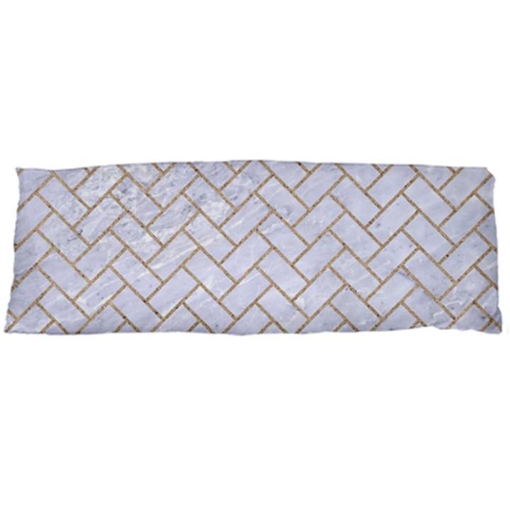 BRICK2 WHITE MARBLE & SAND (R) Body Pillow Case Dakimakura (Two Sides)