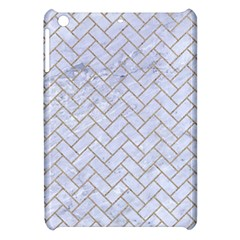 BRICK2 WHITE MARBLE & SAND (R) Apple iPad Mini Hardshell Case