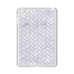 BRICK2 WHITE MARBLE & SAND (R) iPad Mini 2 Enamel Coated Cases