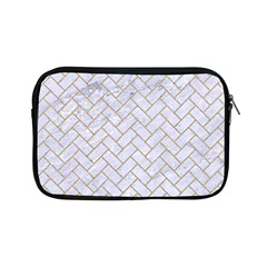 BRICK2 WHITE MARBLE & SAND (R) Apple iPad Mini Zipper Cases