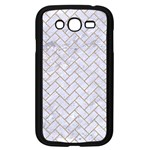 BRICK2 WHITE MARBLE & SAND (R) Samsung Galaxy Grand DUOS I9082 Case (Black) Front