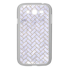 BRICK2 WHITE MARBLE & SAND (R) Samsung Galaxy Grand DUOS I9082 Case (White)
