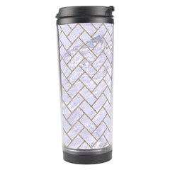BRICK2 WHITE MARBLE & SAND (R) Travel Tumbler