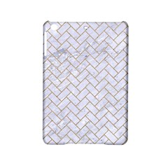 BRICK2 WHITE MARBLE & SAND (R) iPad Mini 2 Hardshell Cases