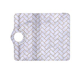 BRICK2 WHITE MARBLE & SAND (R) Kindle Fire HDX 8.9  Flip 360 Case