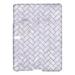 Brick2 White Marble & Sand (r) Samsung Galaxy Tab S (10 5 ) Hardshell Case