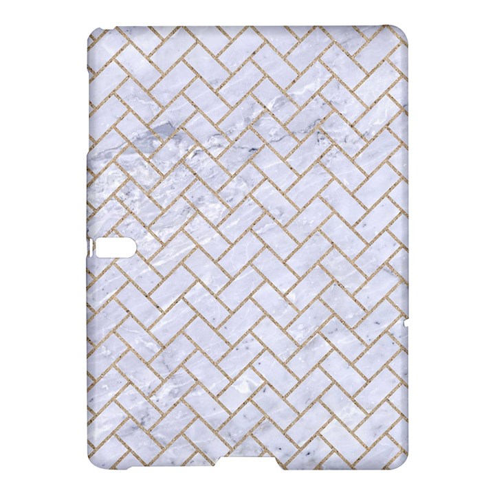 BRICK2 WHITE MARBLE & SAND (R) Samsung Galaxy Tab S (10.5 ) Hardshell Case