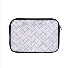 BRICK2 WHITE MARBLE & SAND (R) Apple MacBook Pro 15  Zipper Case