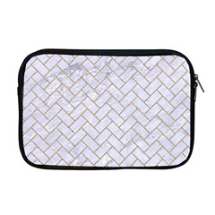 BRICK2 WHITE MARBLE & SAND (R) Apple MacBook Pro 17  Zipper Case