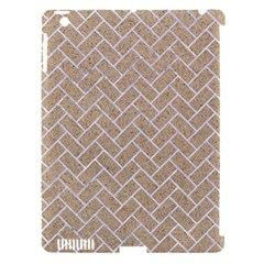 Brick2 White Marble & Sand Apple Ipad 3/4 Hardshell Case (compatible With Smart Cover) by trendistuff