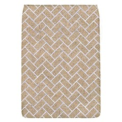 BRICK2 WHITE MARBLE & SAND Flap Covers (S)