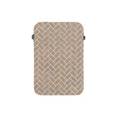 Brick2 White Marble & Sand Apple Ipad Mini Protective Soft Cases by trendistuff
