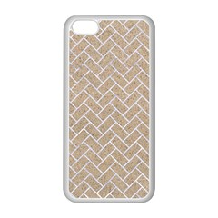 Brick2 White Marble & Sand Apple Iphone 5c Seamless Case (white)