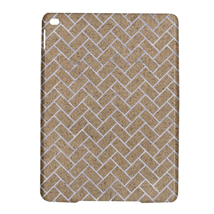BRICK2 WHITE MARBLE & SAND iPad Air 2 Hardshell Cases