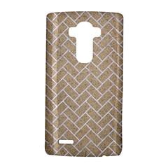 BRICK2 WHITE MARBLE & SAND LG G4 Hardshell Case