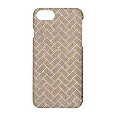 BRICK2 WHITE MARBLE & SAND Apple iPhone 7 Hardshell Case
