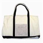 BRICK1 WHITE MARBLE & SAND (R) Two Tone Tote Bag Front