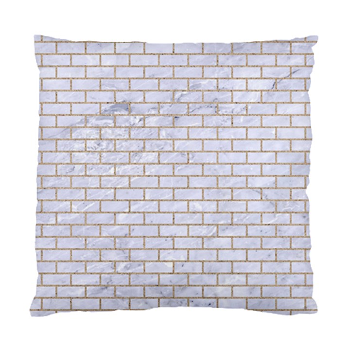 BRICK1 WHITE MARBLE & SAND (R) Standard Cushion Case (Two Sides)