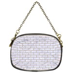 BRICK1 WHITE MARBLE & SAND (R) Chain Purses (Two Sides)  Front