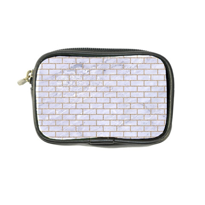 BRICK1 WHITE MARBLE & SAND (R) Coin Purse