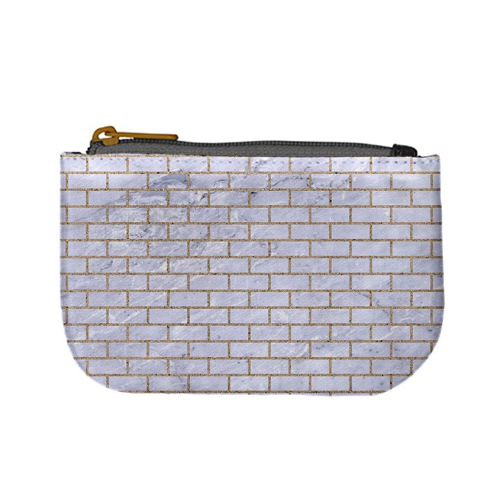 BRICK1 WHITE MARBLE & SAND (R) Mini Coin Purses