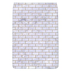 Brick1 White Marble & Sand (r) Flap Covers (l)