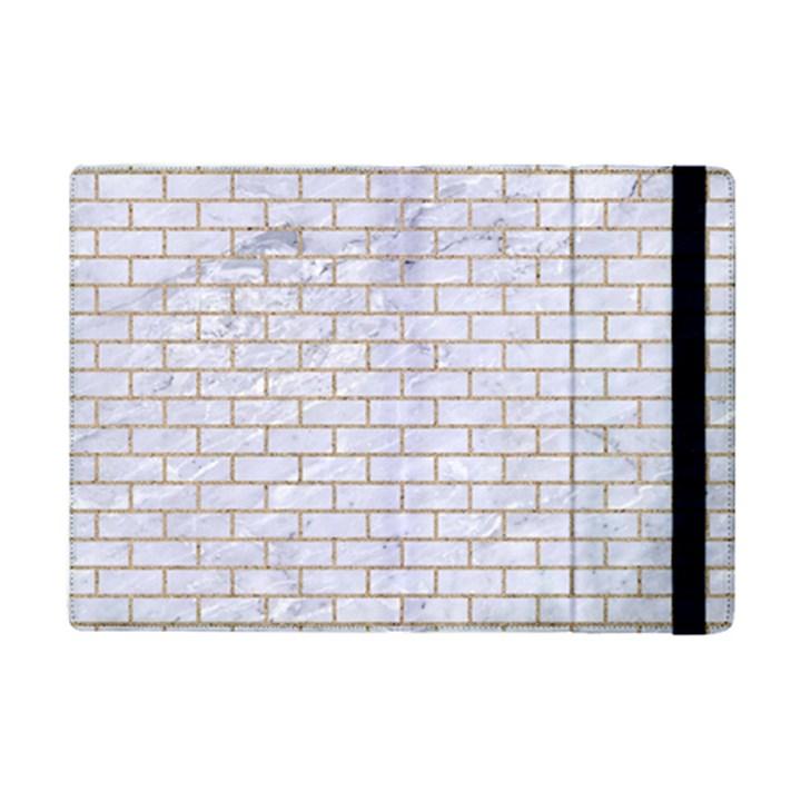 BRICK1 WHITE MARBLE & SAND (R) iPad Mini 2 Flip Cases