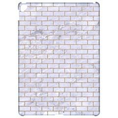 Brick1 White Marble & Sand (r) Apple Ipad Pro 12 9   Hardshell Case by trendistuff