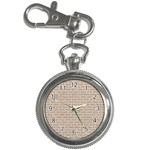BRICK1 WHITE MARBLE & SAND Key Chain Watches Front